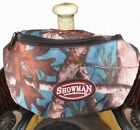 NEW! TEAL! Showman Real Oak Insulated Nylon Saddle Pouch. FREE SHIPPING!
