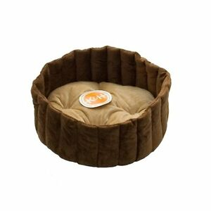 NEW K&H Pet Products Lazy Cup Pet Bed Small Tan Mocha 16 FREE SHIPPING