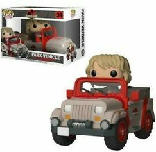Funko Pop! Rides Jurassic Park Dr. Ellie Sattler in Park Vehicle Jeep 39