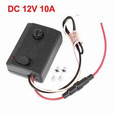 Black Audio Music Sound Voice Sensor LED Strip Light Controller 10A 12V D