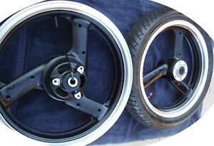 Yamaha 1988-1990 Yamaha FZR400 FZR 400 Wheels Wheel Set Front Rear Dampers Tire