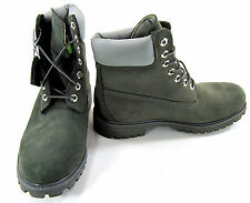 Timberland Boots 6 Inch Premium Gray/White Shoes Size 8.5