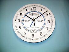 MEGA-QUARTZ time and tide wall clock