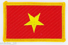 PATCH ECUSSON BRODE DRAPEAU VIETNAM INSIGNE THERMOCOLLANT NEUF FLAG PATCHE