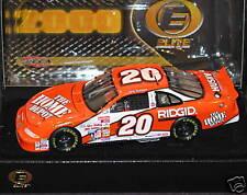 2 Elites Tony Stewart #20 Home Depot 1999 & 2000 1/24 1/1000 Rookie No Stripes