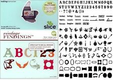 SLICE Design Card VINTAGE FINDINGS  33066 Making Memories