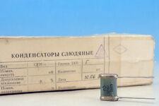10 x  SGM-3 Silver Mica Military 80s Soviet Ceramic Capacitor 1800pF 500V 5% SGM