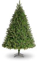 7.5ft Leicester Pine Artificial Christmas Tree Blue/Green PVC Pine