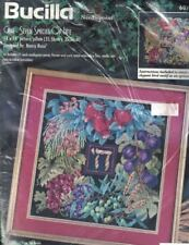 Bucilla Rossi Chai Seven Species Needlepoint Picture/Pillow Kit RARE 60746 OOP