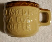 """Vintage Mug """"You Asked For Half A Cup Of Coffee""""  Rock City Lookout Mt. Tennesee"""