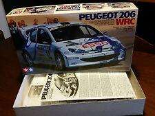 PEUGEOT 206 WRC KIT TAMIYA SCALA 1.24 ART.24221