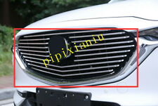 ABS Chrome Front Center Grille Frame Cover Trim For Mazda CX5 CX-5 2017-2019