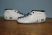 Bont Hybrid Cream Leather Skate Boots Size US 4 - EU 36