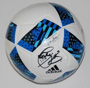 BASTIAN SCHWEINSTEIGER signed (MLS REPLICA) CHICAGO FIRE *SOCCER BALL* W/COA