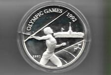 Samoa 1991 10 tala silver proof coin KM# 85