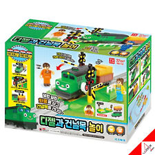 TITIPO & Friends-Electric Train DIESEL and Crossing Play Toy (Not included Rail)