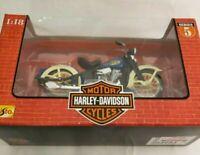 HARLEY-DAVIDSON 1936 EL KNUCKLEHEAD MOTORCYCLE 1:18 DIECAST MAISTO SERIES 5 B4
