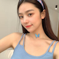 Women's Fantasy Fairy Butterfly Choker Clavicle Chain Necklace Pendant Jewelry