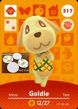Goldie NFC Tag/Coin Amiibo Card Animal Crossing New Horizons! Free Shipping!