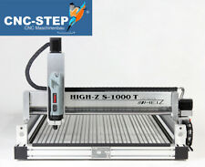CNC Fräse High-Z S-1000/T fräsen gravieren +CADCAM Software f. Profi & Anfänger