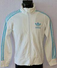 CS08 Adidas Jacke Damen Sport Training  Weiß Gr 34