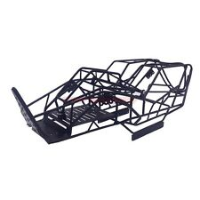 RC 1/10 SCALE AXIAL WRAITH STEEL FRAME BODY ROLL CAGE BLACK