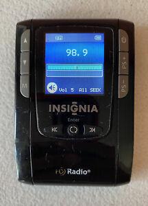 Insignia Digital HD Radio AM FM Portable Player NS-HD01