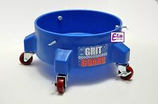 GENUINE Grit Guard Detailing Bucket Dolly BLUE- Strong & Durable with 5 Castors