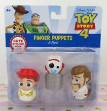 Toy Story 4 Finger Puppets 3-Pack Jessie forky and Duke Caboom