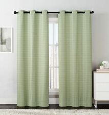 Manor Printed Grommet Blackout Window Top Curtain (Set of 2) Panels 76 x 84""