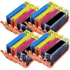 16 Pack Generic  Ink For 564XL Deskjet 3070a 3520 3521 3522 3526 SHOW INK LEVEL