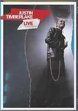 JUSTIN TIMBERLAKE - LIVE FROM LONDON - DVD + CD - NEW -