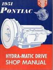 Original, 1951 Pontiac Hydra-Matic Drive Shop Manual