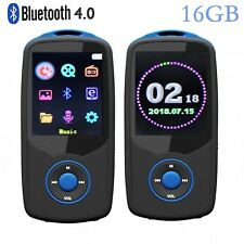 DeeFec Newest Version Bluetooth4.0 MP3 Music Player 16GB with Color Menu Screen,