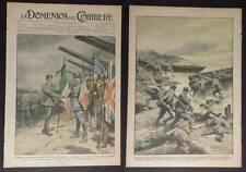 DOMENICA DEL CORRIERE 17/1918 WW1 FOSSALTA DI PIAVE ECC...