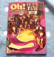 Girls' Generation SNSD 2ND ALBUM [ OH! ] CD+BOOKLET K-POP F/S