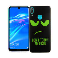 Huawei Y7 2019 Case Phone Cover Protective Case Bumper Black Size