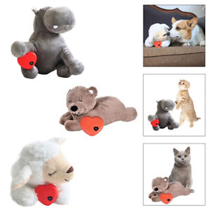 Puppy Heartbeat Snuggle Dog Puppy Aid Toys Plush Training Toy Comfortable