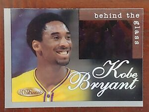 1996-97 INKcredible Behind The Glass SET-NEVER ISSUED-KOBE BRYANT ROOKIE BG15 MT