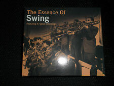 """THE ESSENCE OF SWING"" 47 GREAT RECORDINGS, DOUBLE CD IN TOP COND"