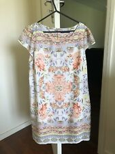Portmans Size 14 Scarf Print Shift Dress