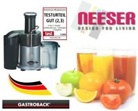GASTROBACK NEW Design Juicer incl. juice box and recipes for whole fruits 40123
