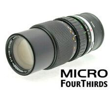 MICRO 4/3 M43 Fit 75-150mm (150-300mm) TELE LENS PANASONIC LUMIX- OLYMPUS PEN