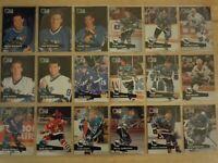 SAN JOSE SHARKS ~ 1991-92 Pro Set TEAM SET ~ 24 Hockey Cards ~ WILSON FALLOON