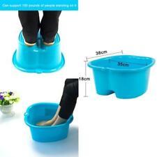 Foot Bath Spa Tub Basin Bucket Soak Bowl Portable For Soaking Feet Detox