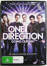 ONE DIRECTION GOING OUR WAY DVD MUSIC DOCUMENTARY AN UNAUTHORISED BIOGRAPHY