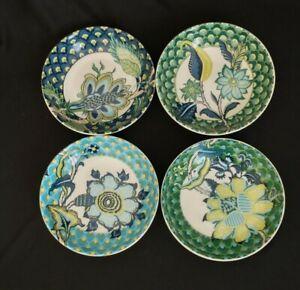 Williams Sonoma Schumacher Arborvitae Dip Bowls Set of 4 Berry Dessert Botanical