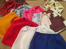 "CLothes Skirts Lot of 10pc RANDOM Fits Slim 18"" Kidz n Cats Magic Attic Doll"