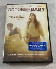 October Baby Dvd Every Life Is Beautiful New & Sealed