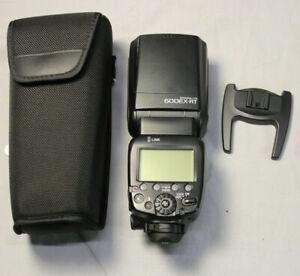 Canon Speedlite 600EX-RT Shoe Mount Flash in Case